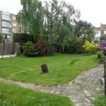 Espace jardin initial.