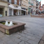 Des fontaines reconditionnées.